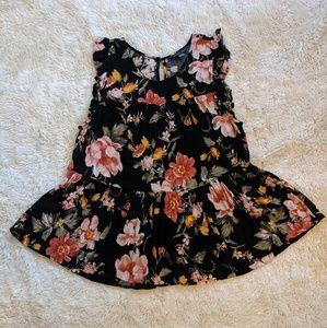 American Eagle Floral Babydoll blouse